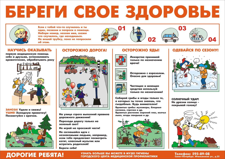 """Скачать шаблон  """"Плакат зож """" u2014 типография  """"Принт """" в Екатеринбурге."""